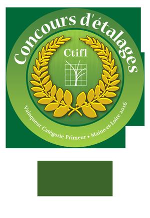 1er prix concours etalage Nature Gourmande Primeur Angers